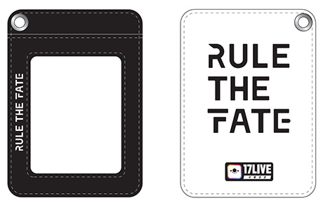 「RULE THE FATE」と「17LIVE」の限定コラボグッズ