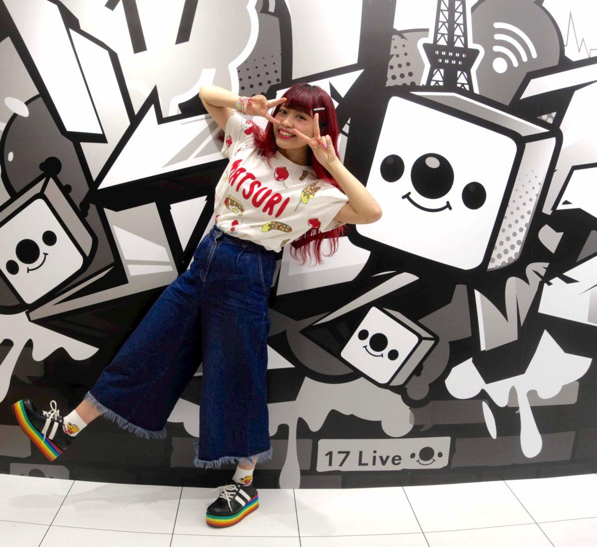 TokyoWalker掲載!誰よりもイチナナを愛する、面白可愛い赤毛の女の子